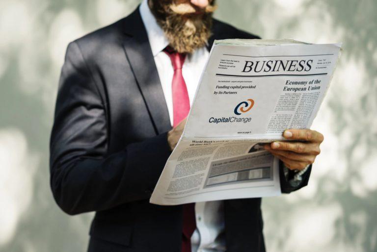 capitalchange in newspaper